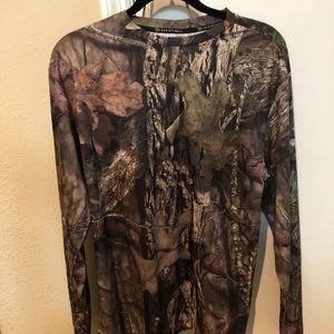 Red Head mossy oak camo shirt